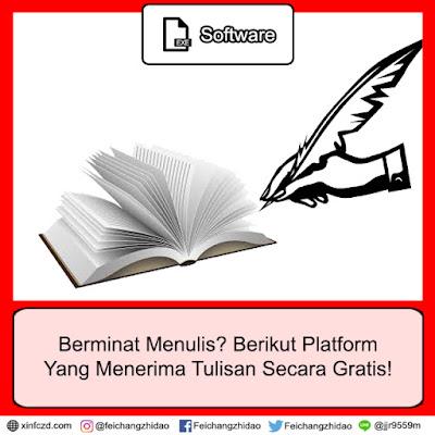 Berminat Menulis? Berikut Platform Yang Menerima Tulisan Secara Gratis!