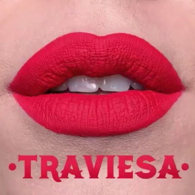 kat von d Everlasting Liquid Lipstick lip swatch traviesa