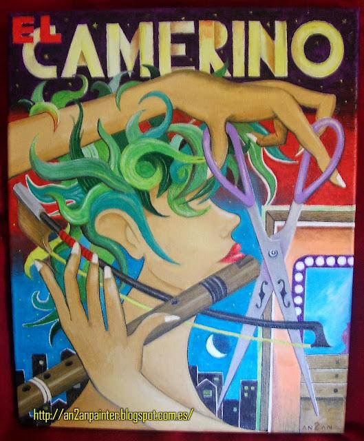 El Camerino. Oil painting. 38x46 cm.