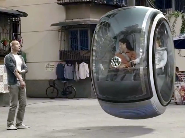 VOLKSWAGEN FLYNG CAR ,hover car, future concept car:Intelligent computing