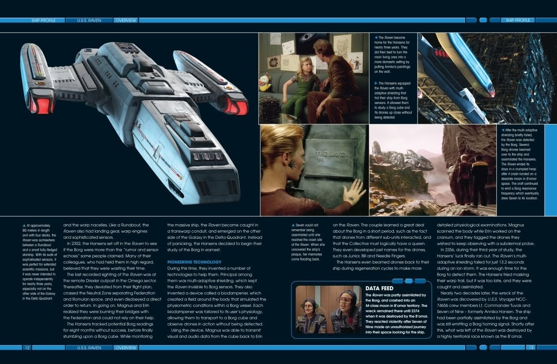 Star Trek S.S connestoga Spaceship Special Model Eaglemoss English Magazine