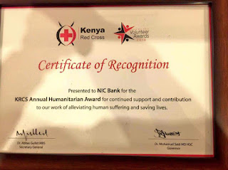 Nic bank redcross awards