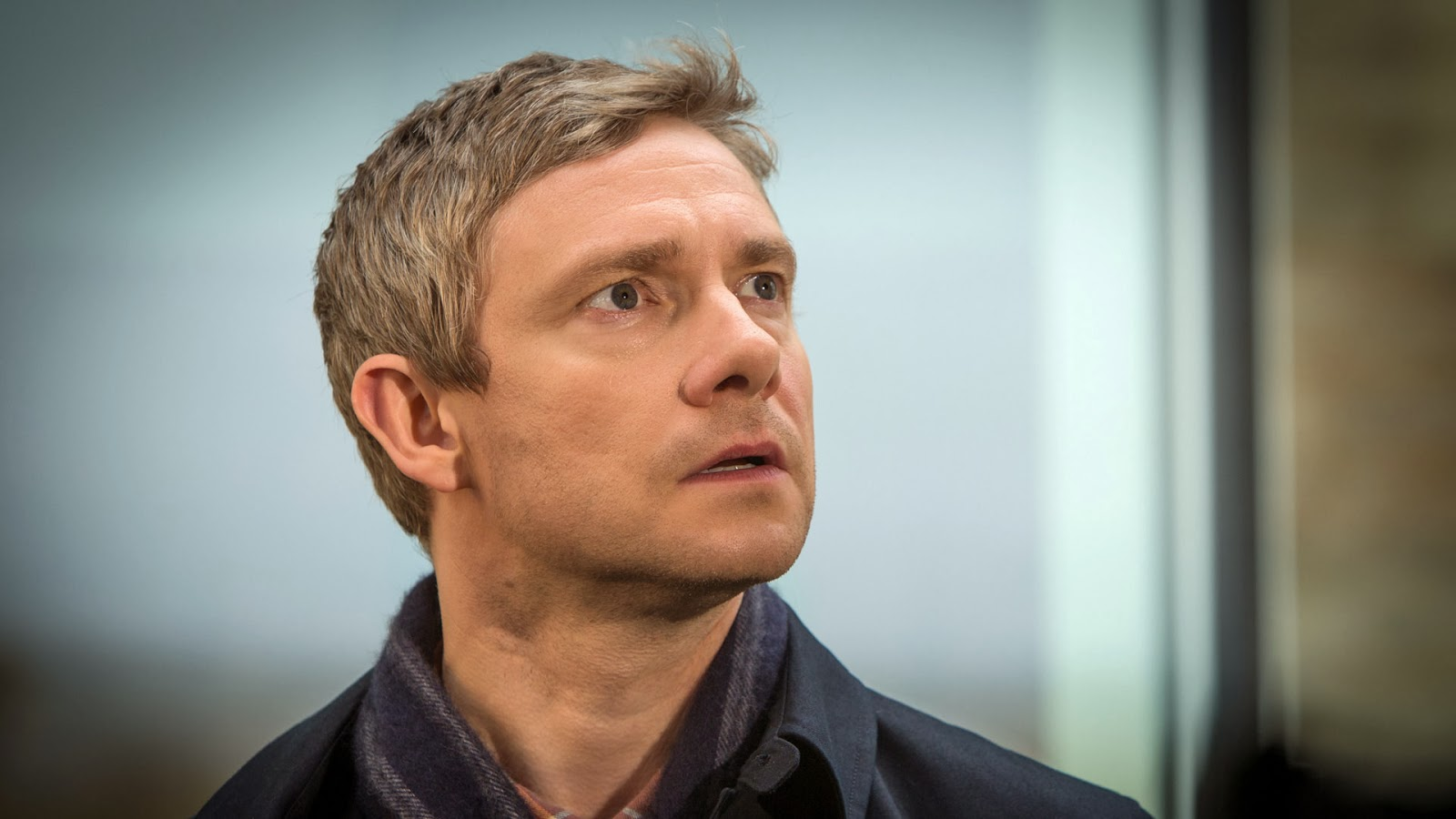 Martin Freeman as John Watson in BBC Sherlock Season 3 Episode 3 His Last Vow