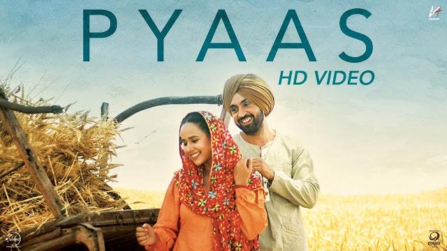 Pyaas Song Lyrics | SAJJAN SINGH RANGROOT | DILJIT DOSANJH | Pankaj Batra | Latest Punjabi Song 2018