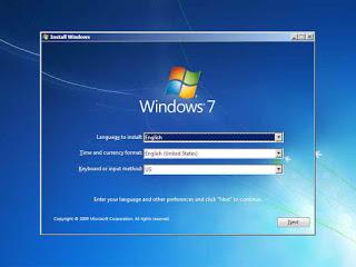 gambar 2 cara instal windows 7 dengan cd