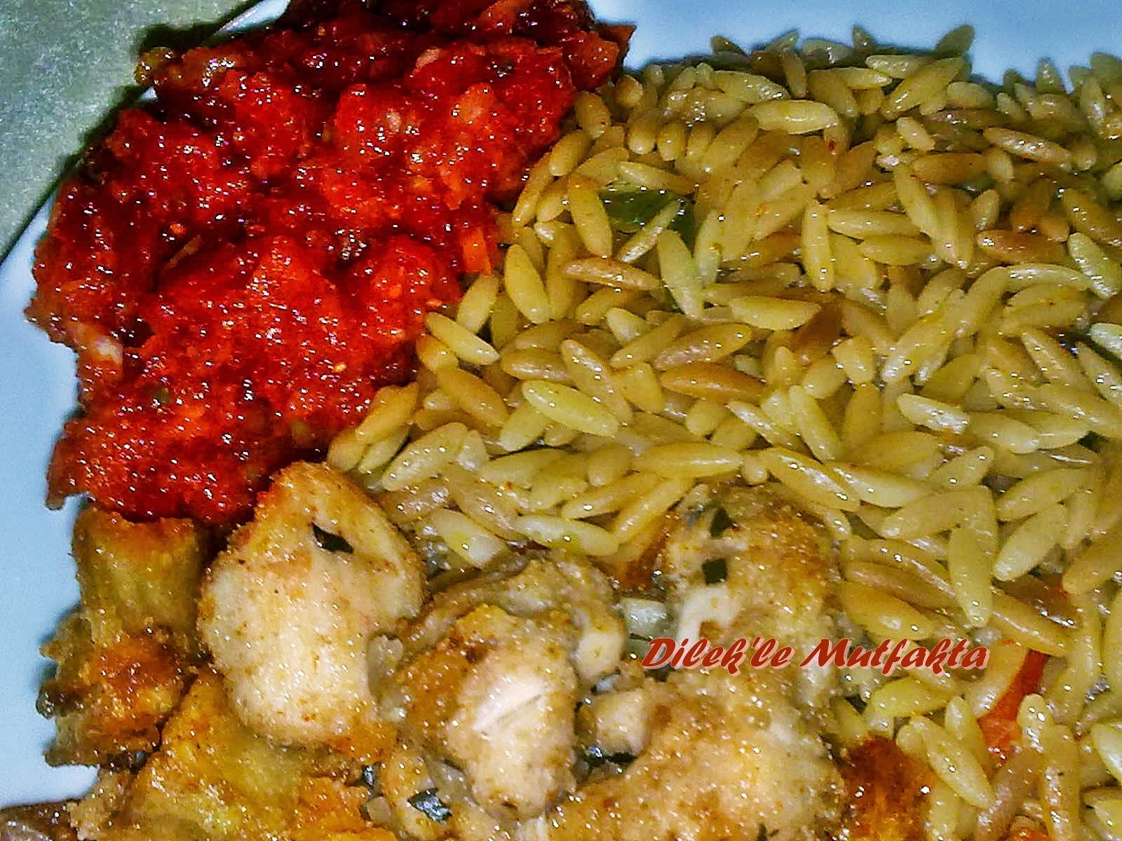 Pilav Tarifi-Arpa şehriyeli sebzeli pilav-hindi eti kavurma nasil yapilir-Aksam yemegi-Yemek Tarifleri