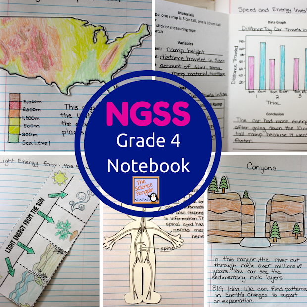 4th Grade Science Interactive Notebooks