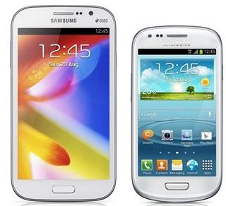 perbedaan harag spesifikasi galaxy grand duos vs galaxy s3 mini terbaru lebih baik beli yg mana, android canggih dual core samsung dua kartu, ponsel android spesifikasi menarik