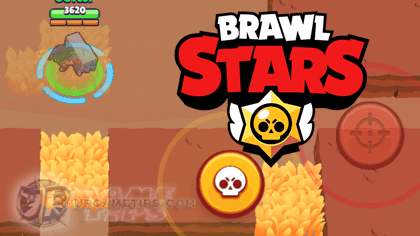 Brawl Stars: Stay hidden inside bushes.