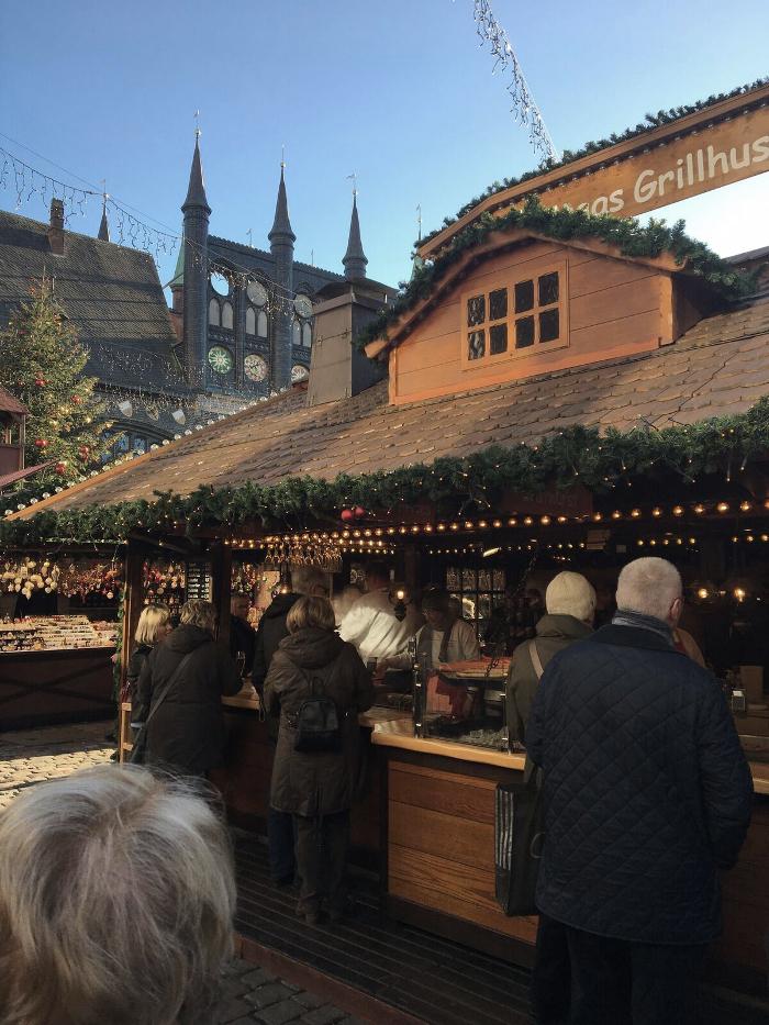 jul, julmarknad, lübeck, tyskland, glühwein, marknad,