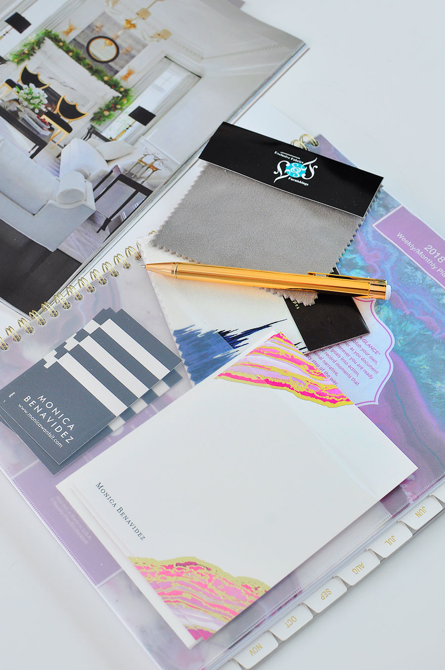 AT-A-GLANCE planner review- perfect for keeping track of appointments, goals, and events.