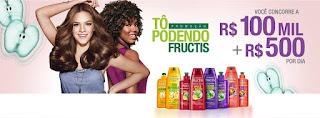 Promoção Garnier Fructis 2016 - Concorra a R$ 100 mil  e R$ 500 por dia!