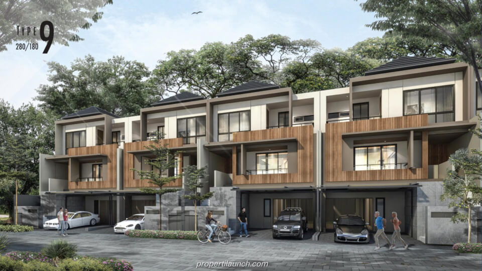 Rumah Cluster Kazumi @ The Zora BSD Tipe 9