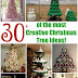 31+ OF THE MOST CREATIVE CHRISTMAS TREES