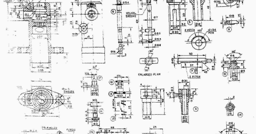 Automobile Engineering Drawing , Question Paper of B.Tech