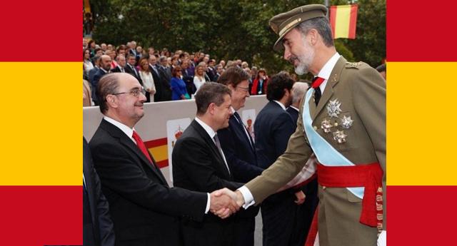 El presidente socialista de Aragón incendia Twitter tras insultar a los políticos catalanes