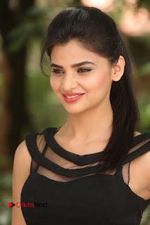 Actress Kamna Ranwat  Pictures in Black Short Dress at Selfie Raja Interview  0001