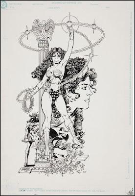 Fantasy Ink: Wonder Woman