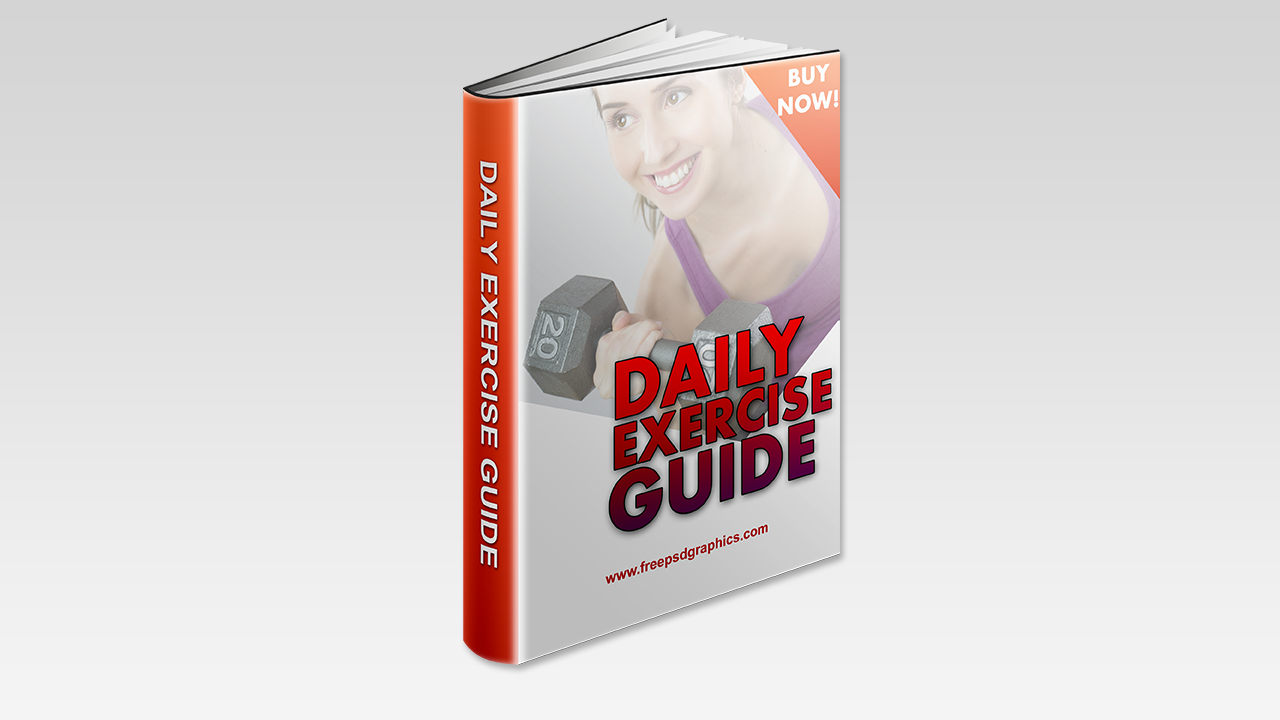 Fitness Free Ebook Cover Template - Free PSD Graphics