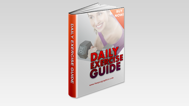 Download Free PSD Fitness Ebook Cover Design Template
