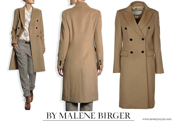 Princess Mary wore By Malene Birger Torun winter coat