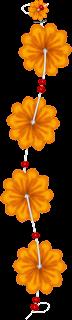 Flores y Lazos o Moños del Clipart Disfrutando en la Piscina.