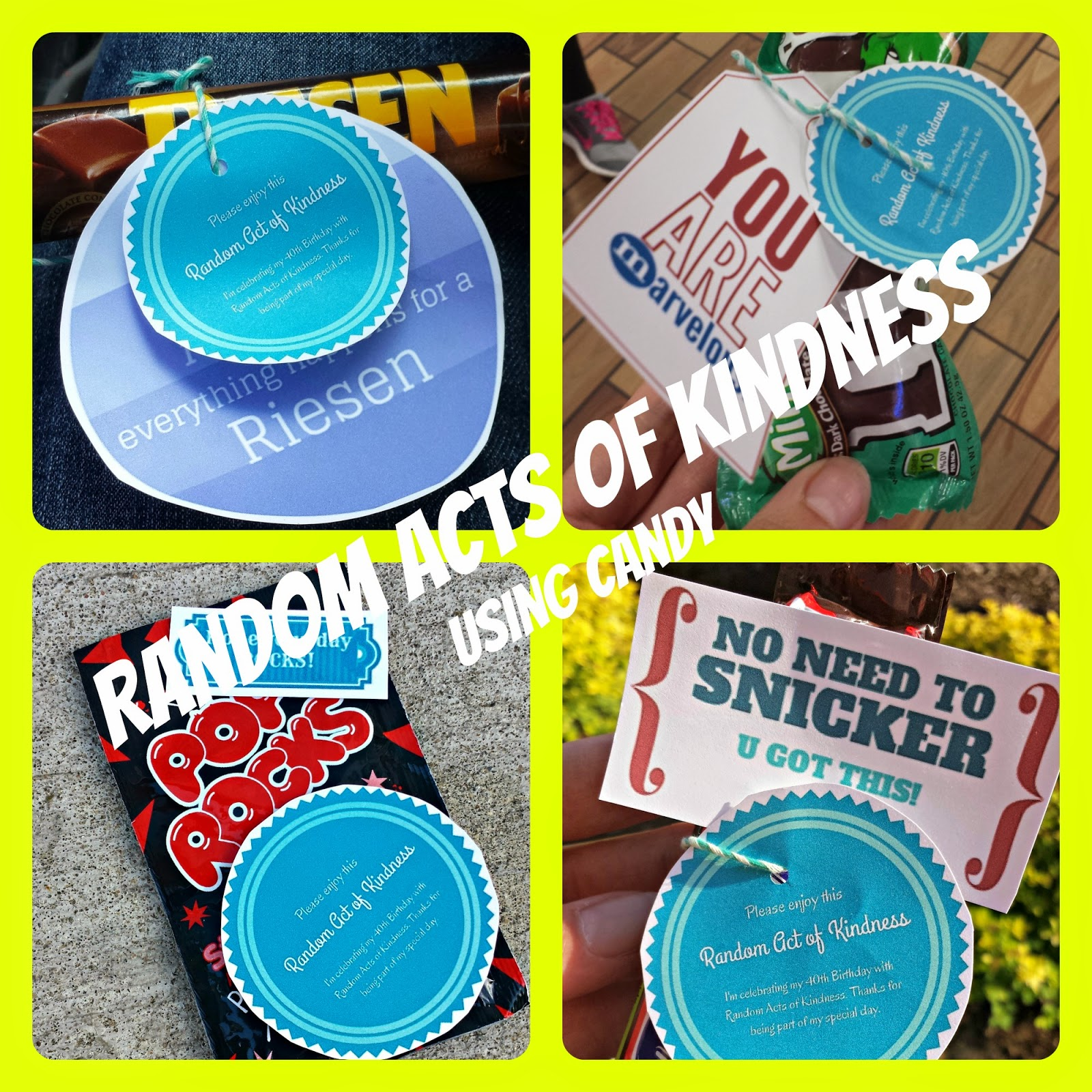 #RAOK (Random Acts of Kindness) using candy