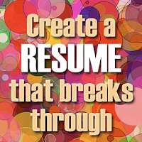 resume tips, creating a strong resume, creating an effective resume,