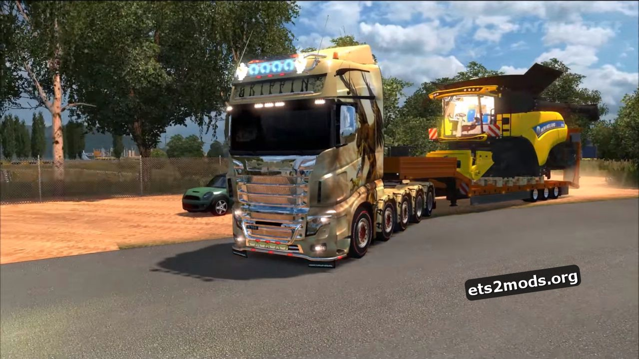 Truck - New Scania R700