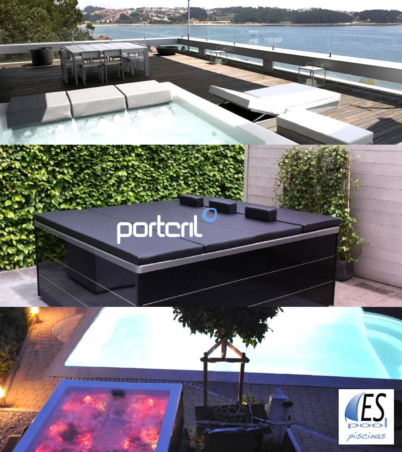 Spa model Lounge de Portcril de venta en Espool Piscinas, tienda oficial de Spas Portcril