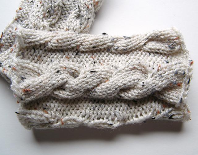 Lewis Knits: Ana Cable Boot Cuffs Knitting Pattern