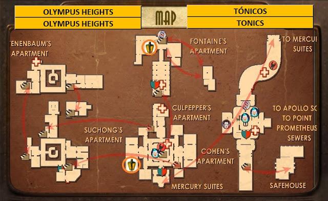 Bbymasjugando bioshock olympus heights mapas for Bioshock jardin de las recolectoras