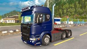 Scania R620 Baakind Trans truck mod