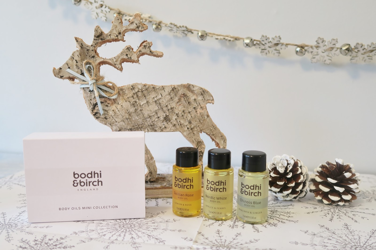 Amber's Beauty Talk Christmas Gift Guides | Bodhi and Birch Mini Body Oils Collection