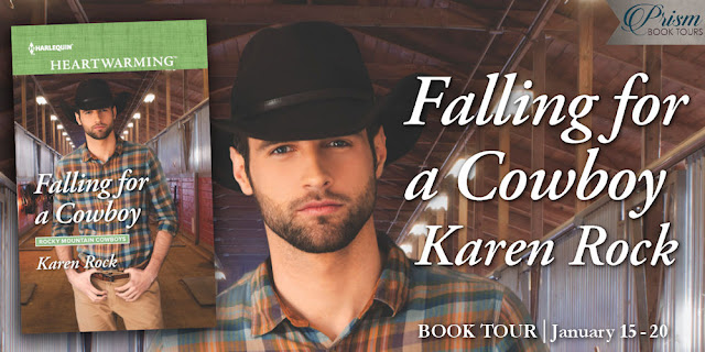 Falling for a Cowboy by Karen Rock – Excerpt and Giveaway