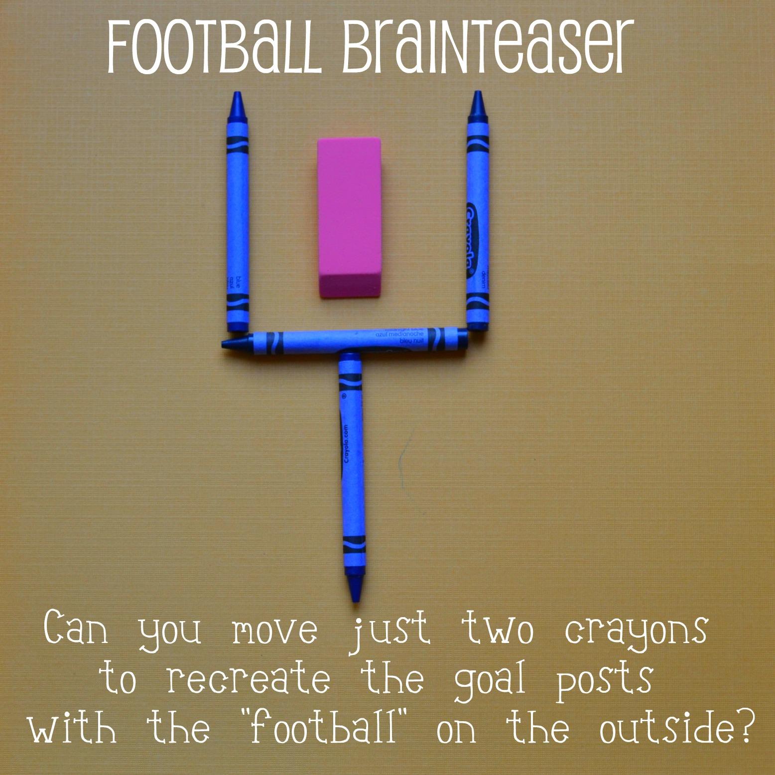 Brain Teasers 2 Plus 1