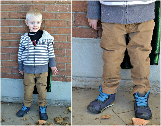Sewing for the Boy: Moto Inspired Pants Upcycle