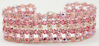 Bridesmaid's Crystal Cuff