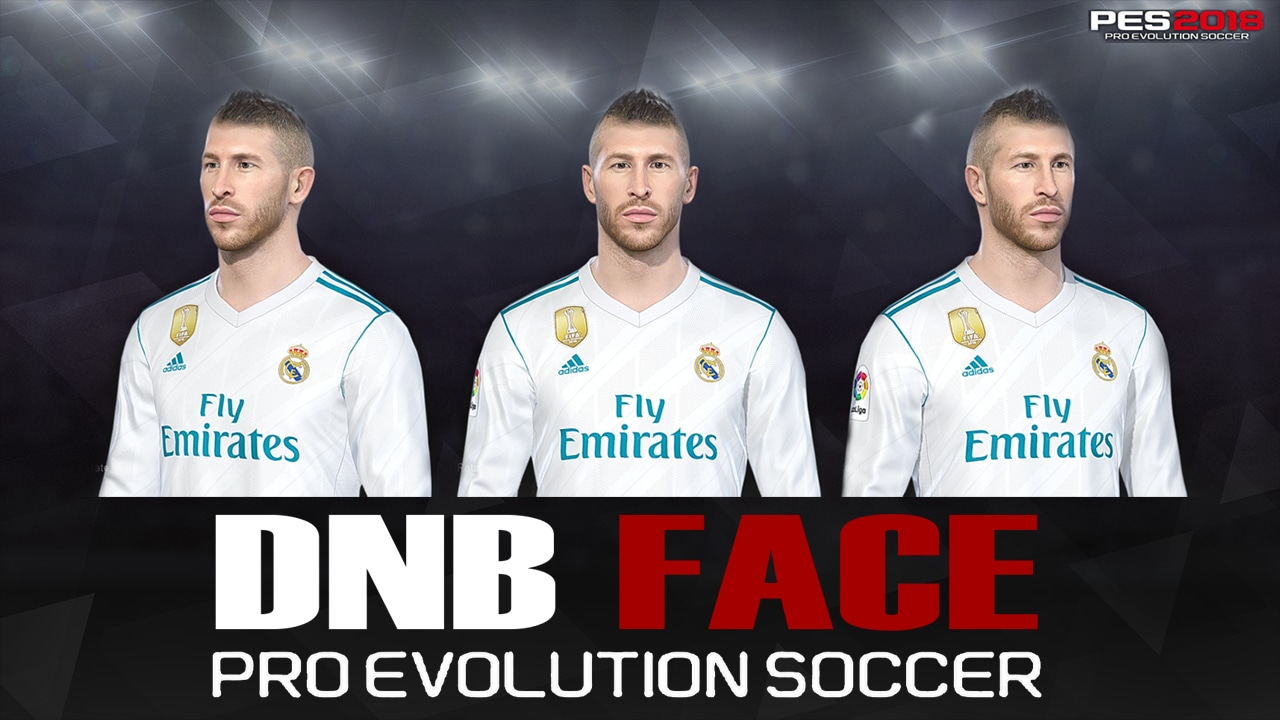 PES 2018 S. Ramos Face by DNB Face