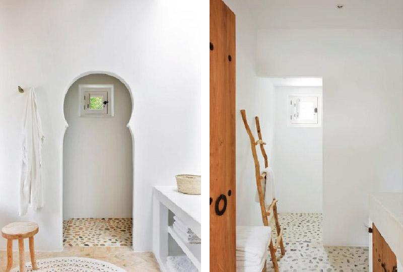 Ibiza una casa dai colori vivaci blog di arredamento e for Bagno in stile mediterraneo