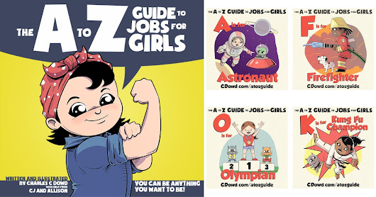 Kickstart This! The A to Z Guide to Jobs for Girls         ~          Self-Rescuing Princess Society