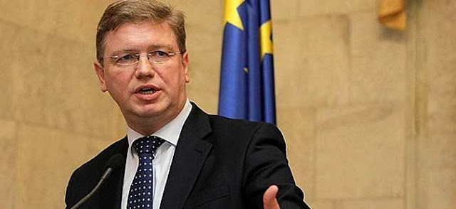 Fule: Macedonia could begin EU accession talks by mid-2013