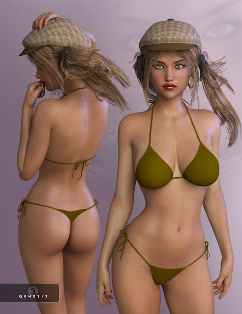 Brigitte for Genesis 3 Female