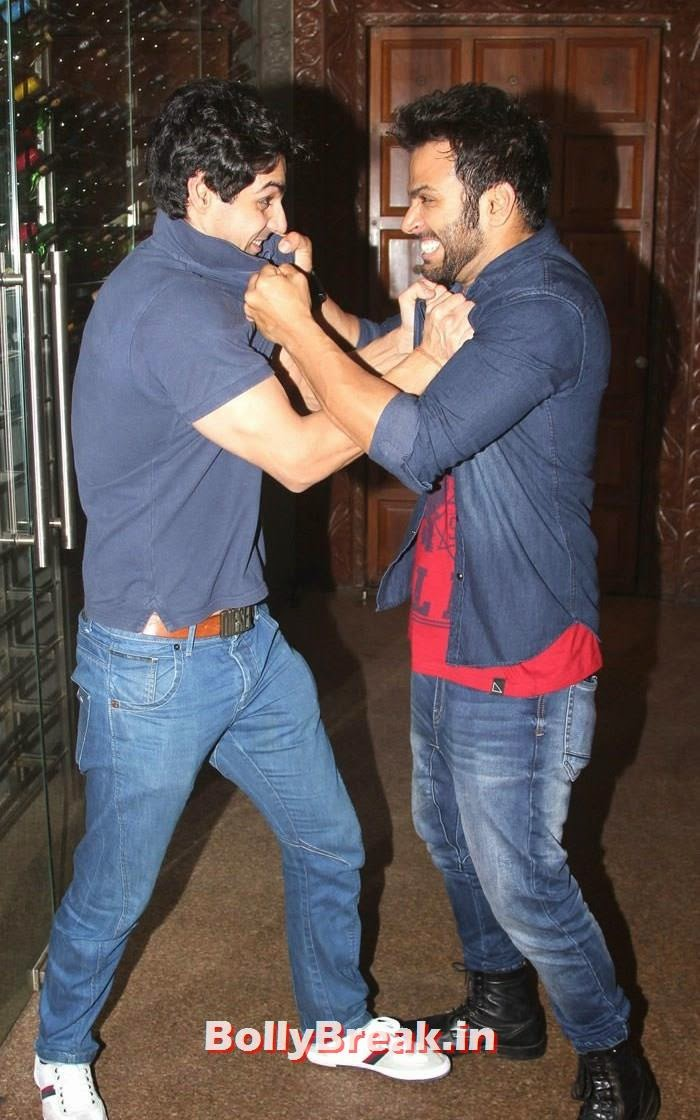 Karan Wahi, Rithwik Dhanjani, Hot Pics from Sargun Mehta Birthday Bash