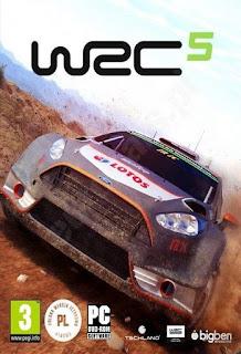 Capa do Game WRC 5 FIA World Rally Championship - PC