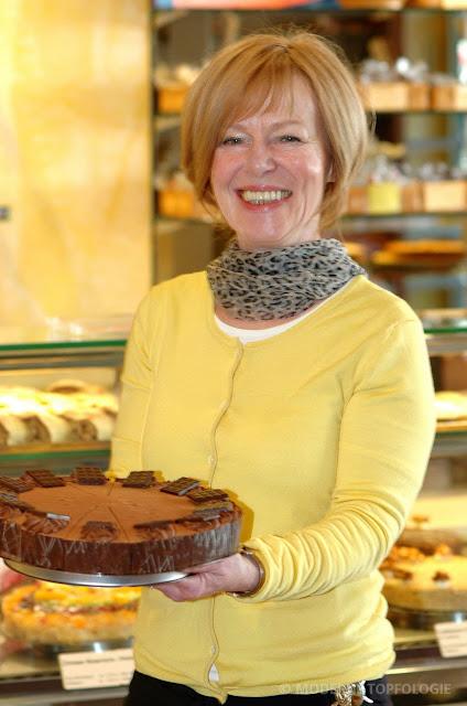 Leitet im Café Wonsyld den Verkauf und Service: Dorothea Wonsyld