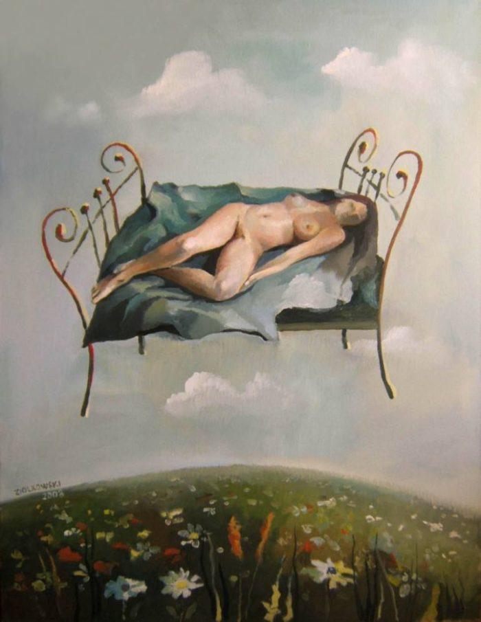 Польский художник. Gregor Ziolkowski
