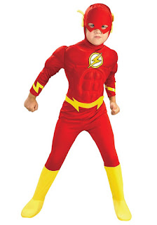 jual kostum anak superhero the flash