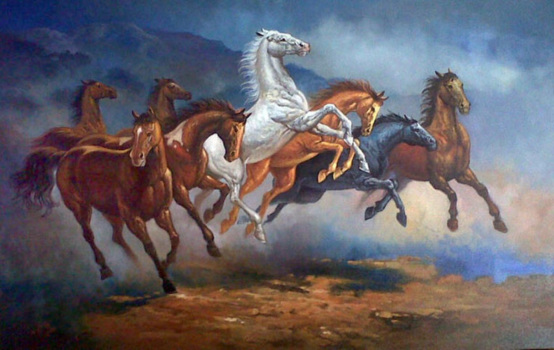 LUKISAN  KUDA  Galeri Online khusus Lukisan  Berkelas