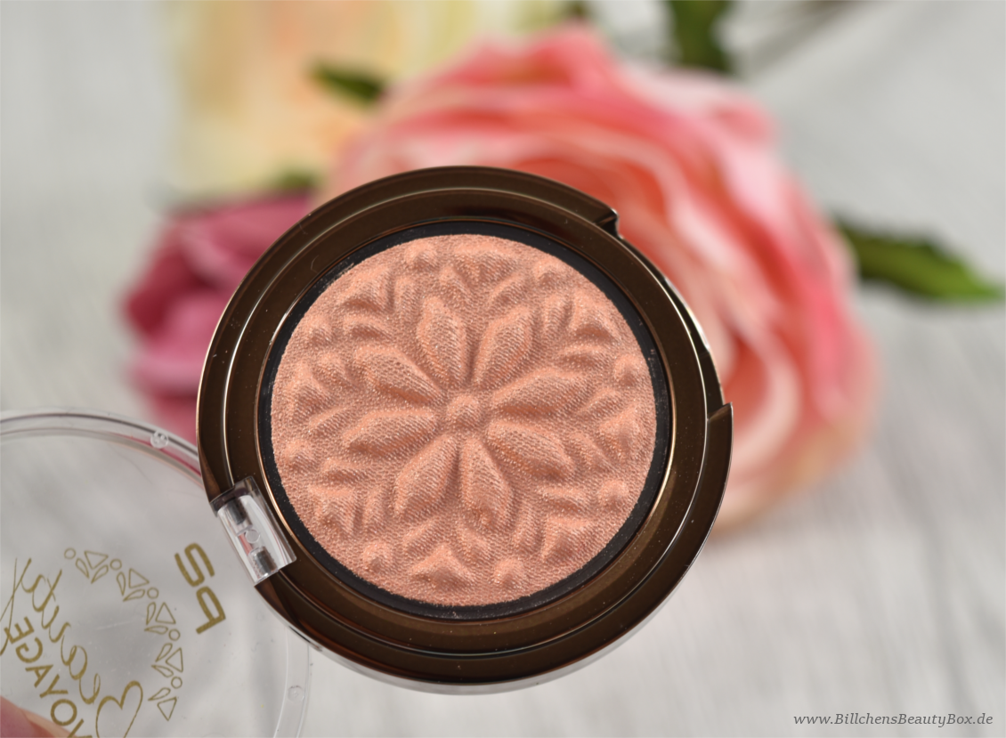 p2 cosmetics - Beauty VOYAGE Limited Edition - moroccan love eye shadow - mesmerising sun